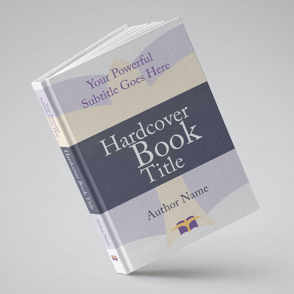 Hardcover Book Mockup AI-min