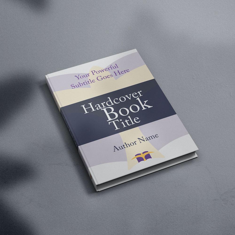 Hardcover Book Mockup D-min